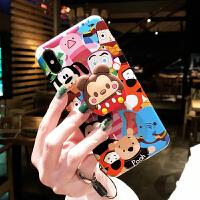 网红苹果x手机壳iphone8plus挂绳7p卡通硅胶6s可爱XR个性XS max女