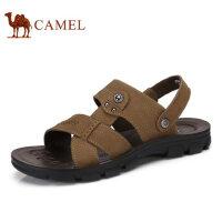 camel 骆驼男鞋 夏季新款日常休闲男凉鞋纯色清凉舒适男鞋