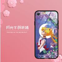 vivox9手机壳x9s美少女战士全包防摔玻璃女款可爱卡通硅胶软套个性x9L保护套日韩动漫同款网红镜