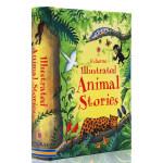 英文原版绘本 Usborne Illustrated Animal Stories 精装全彩插画版 动物故事图画书