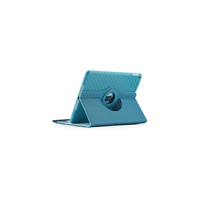 ipad2 3 4保护套iphone4s平板防摔壳全包边硅胶皮套10寸旋转360度 ipad2/3/4 天空蓝
