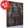 预售 它 小丑回魂的世界 小丑回魂1 2 电影艺术画册设定集 英文原版 The World of It 精装 潘尼怀斯