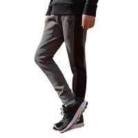 李宁2016新款男子卫裤男运动裤男收口修身长裤AKLL025