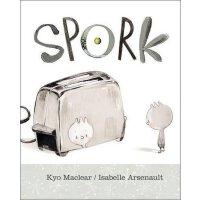 英文原版 小叉勺 Isabelle Arsenault插画绘本 身份认同 自我认知 Kyo Maclear: Spor