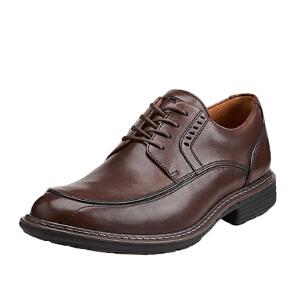 Clarks/其乐男鞋2017秋冬新款商务休闲系带皮鞋Un Rage专柜正品直邮