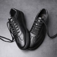 男鞋夏季潮鞋休闲板鞋男潮韩版百搭青年皮鞋高个子大脚鞋46码45夏季百搭鞋