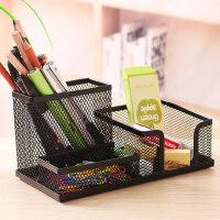 笔筒创意时尚办公可爱彩色多功能笔筒桌面收纳笔筒笔座办公用品1