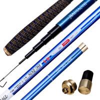 碳素鱼竿4.5米台钓竿超轻硬37调野钓杆钓鱼竿渔具用品