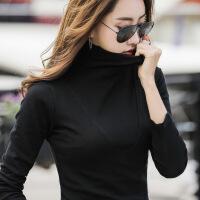 №【2019新款】冬天年轻人穿的高领打底衫女内搭修身显瘦长袖t恤上衣女冬