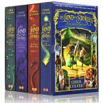 The Land of Stories 英文原版小说 青少年 10 15岁 异世界童话之旅 4本套装 故事之地 克里斯