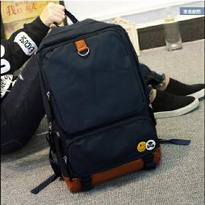 新款双肩包女韩版潮书包中学生大容量旅行包休闲运动背包电脑