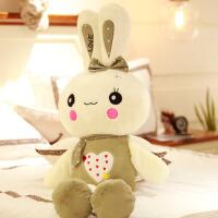 兔子毛绒玩具小白兔公仔可爱布娃娃女孩玩偶生日儿童节礼物