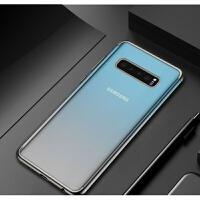三星S10手机壳三段tpu适用note9电镀硅胶S7e创意透明S8+保护套S9