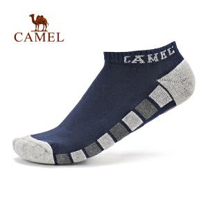 camel骆驼男款毛圈袜 回弹吸汗透气舒适面料短筒袜运动袜