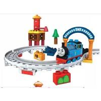 美高THOmas托马斯拼装积木 前进吧小火车
