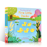 进口英文原版绘本Sing Along with Me系列 Five Little Ducks 五只小鸭子 欧美经典儿歌
