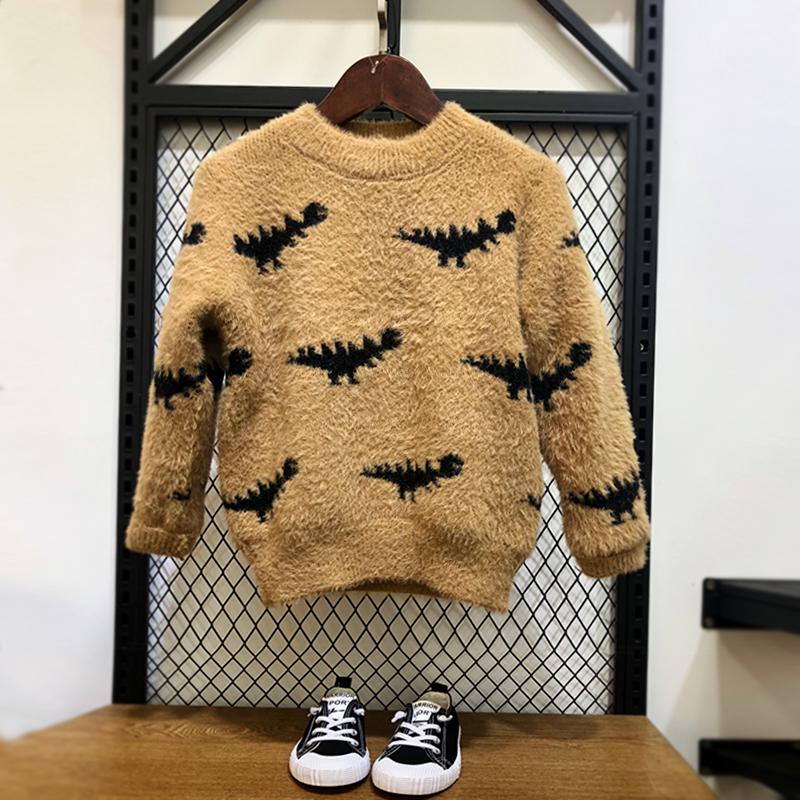 男童毛衣冬装儿童打底衫中大童线衣洋气童装