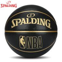 斯伯丁篮球官方正品耐磨室外nba7号水泥地比赛专用非真皮牛皮76-310Y