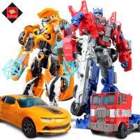 变形玩具金刚5 儿童热销益智玩具大黄蜂擎天侠恐龙汽车机器人