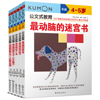 公文式教育:左右脑开发逻辑思维4-5岁(套装共5册)