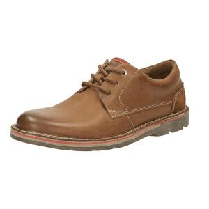 【海外直邮】Clarks/其乐男鞋2017秋冬新款复古时尚商务休闲鞋Edgewick Plain专柜正品直邮