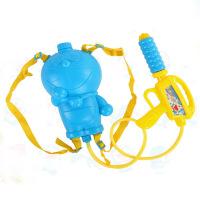 贝恩施 儿童水枪玩具背包水枪 抽拉式夏天戏水喷水漂流枪 沙滩玩具