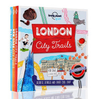 【满300-100】英文原版 Lonely Planet City Trails 旅行圣经 LP 孤独星球 纽约 巴黎
