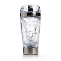 康宝莱奶昔蛋白粉咖啡电动搅拌杯有刻度摇摇杯450ML 透明
