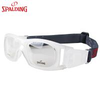斯伯丁篮球护目镜 防撞防尘男女球类运动 平光 近视眼镜防雾镜片
