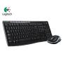 Logitech罗技无线键鼠套装MK270 罗技无线键盘+罗技无线鼠标套装 全尺寸无线键盘+光电无线鼠标 罗技MK260升级款罗技MK270
