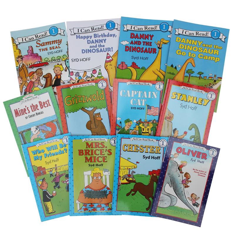 柯林斯出版 I Can Read 一、二阶段26本 汪培珽书单 儿童英文原版进口绘本 儿童启蒙入门英语阅读图画书 3-8岁阶段阅读 送音频 汪培廷书单 经典儿童绘本 送音频