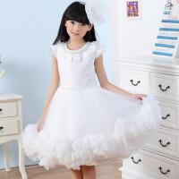新款童装女童公主裙儿童礼服婚纱裙女孩连衣裙蛋糕裙