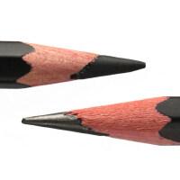 马利牌铅笔4b6b8b12b14b碳笔速写软炭手绘画笔马力素描软中硬炭笔