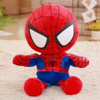 蜘蛛侠布娃娃卡通动漫毛绒玩具蜘蛛侠公仔大号睡觉抱枕布娃娃玩偶创意儿童礼物