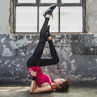 韩国MONODIO正品专业瑜伽健身裤女夏季薄款性感弹力紧身修身吸汗透气九分瑜珈裤运动裤打底裤 MP1030