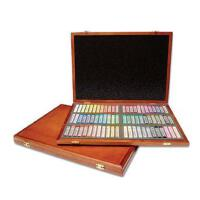 MUNGYO盟友 72色套装木盒装 色粉笔 粉彩棒 粉彩笔