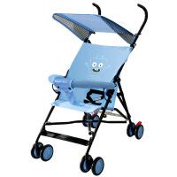 母婴用品  呵宝婴儿推车超轻便携可坐伞车