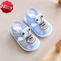 �����W走路穿的鞋子����鞋子1-3�q男童卡通���鲂�女小童夏季�W面4幼�����0�底�W步鞋2布鞋