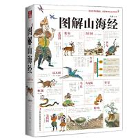 正版 图解山海经彩图版 是一部集地理志、方物志民俗志于一体的上古奇书全解山海经异兽图 古代中国神话传说国学经典文化书籍