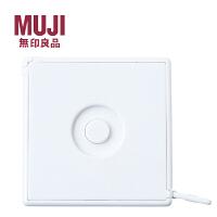 日本MUJI无印良品卷尺ABS材质卷尺皮尺软塑料1.5M卷尺