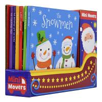 Mini Movers Christmas 圣诞节绘本故事6册精装礼盒 撕不烂