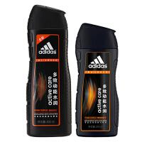 阿迪达斯 多效动能水润洗发水400ml+送200ml多效动能水润洗发水