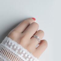 食指戒指女简约学生清新饰品指环个性潮流时尚