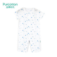 全棉时代 春夏婴幼儿纱布短袖连体服 1件/袋