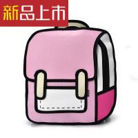 二次元漫画背包2立体包包3双肩背包女书包女包创意书包时尚