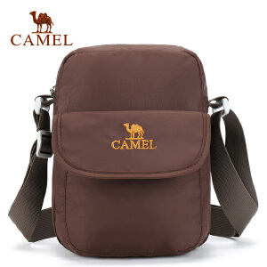 camel骆驼户外挎包 男女通用耐磨单肩斜挎包 出游休闲包