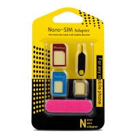【包邮】手机SIM卡托卡套 各种规格SIM卡切换 sim 电话卡 手机卡 还原卡套 取卡针 手机卡套sim卡套金属通用