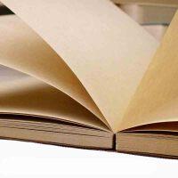 复古纯色风创意手绘记事速写本超大厚空白牛皮纸涂鸦笔记日记本子