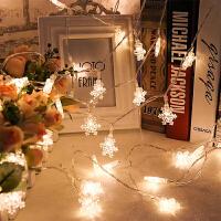 耀庆led彩灯闪灯串灯星星灯雪花圣诞树小彩灯节日装饰灯