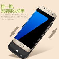 三星s7e背夹电池s6专用无线充电宝超薄S6+移动电源S8+手机壳三星note8专用便携式冲器S9/ S8+plus